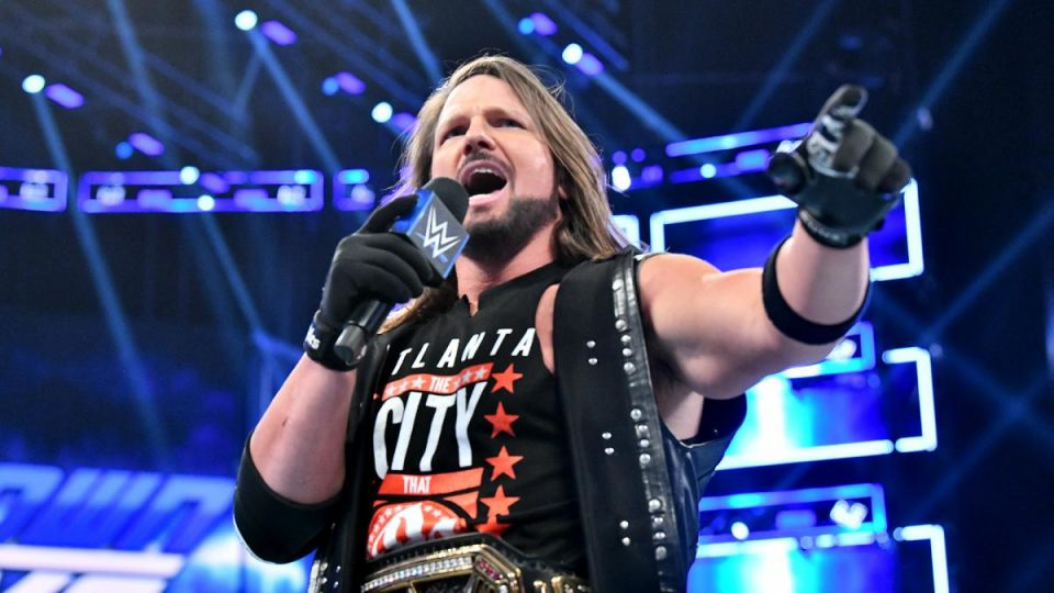 AJ Styles On Having Weapons At Clash Of Champions