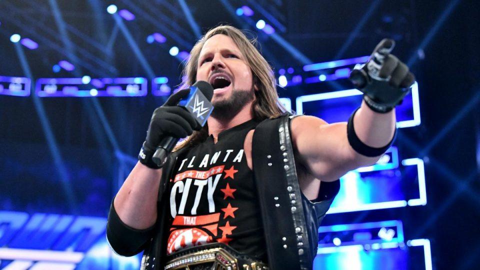 AJ Styles Becomes Grand Slam Champion