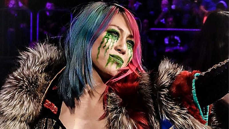 Asuka Denies Reports About Her Absence From WWE TV