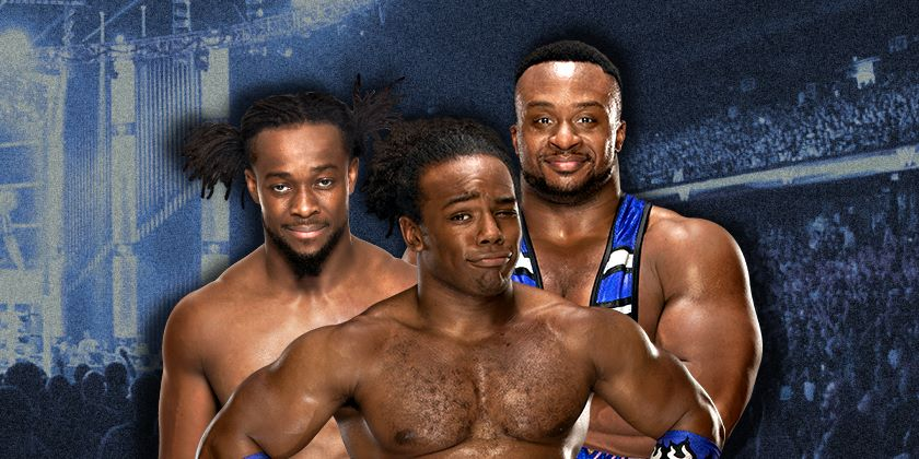 The New Day Arrive at WrestleMania Ready For Kofi Kingston's Big Moment