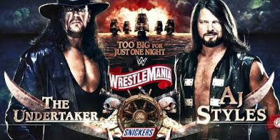 Details on Undertaker and AJ Styles Boneyard Match