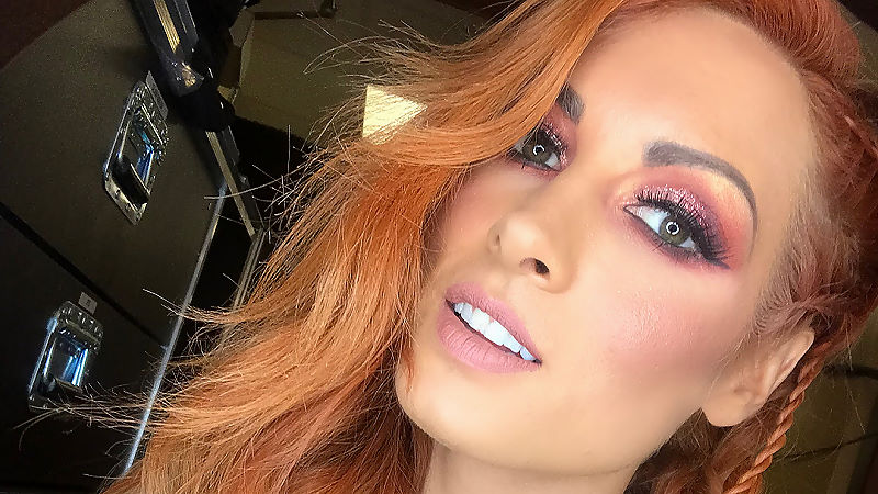 Becky Lynch Was Backstage On SmackDown This Week