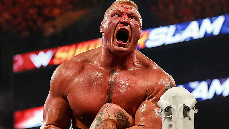 WWE Officials Reportedly Want Big Feud For Brock Lesnar