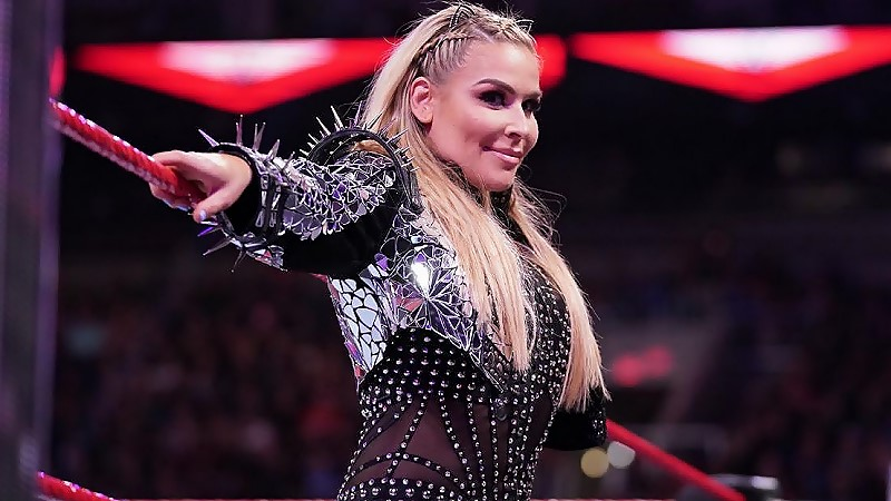 Natalya Gets Tooth Knocked Out By Lacey Evans On RAW (Photo)