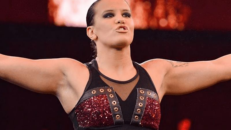 """Shayna Baszler Reacts To Chris Jericho """"Blood And Guts"""" Fall"""
