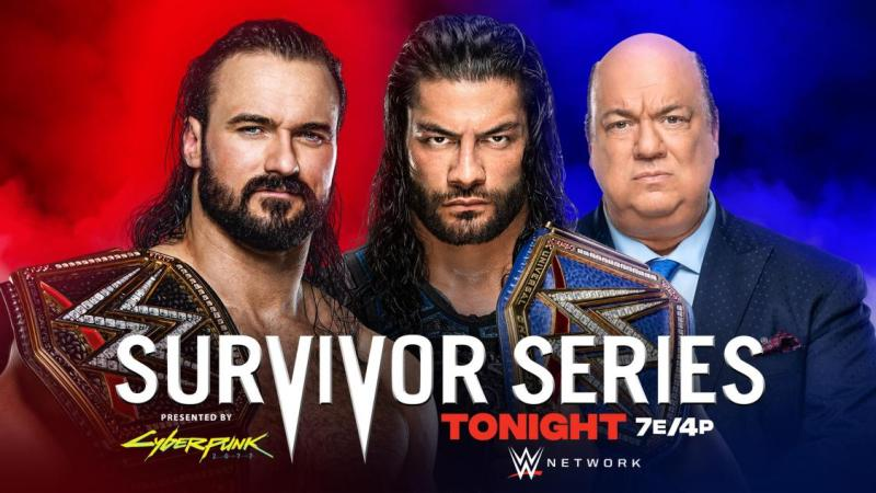 WWE Survivor Series Results - November 22, 2020