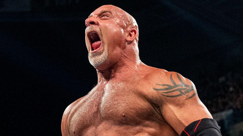 Goldberg Puts UFC Hall Of Famer In A Headlock At UFC 262