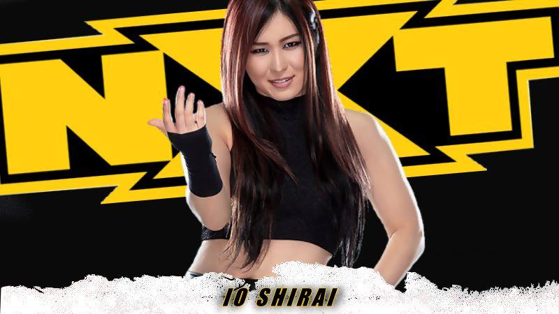 Io Shirai vs Toni Storm Officially Announced For March 10