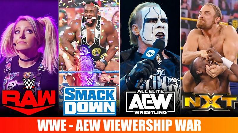 NXT Draws Near Record Low Audience, AEW Dynamite Viewership Up