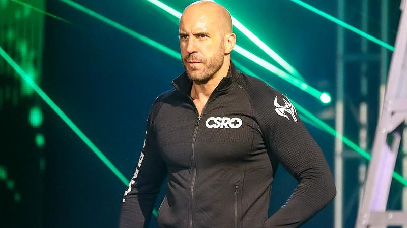 Cesaro Comments On His Elimination Chamber