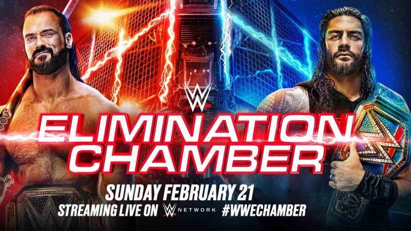 2021 WWE ELIMINATION CHAMBER
