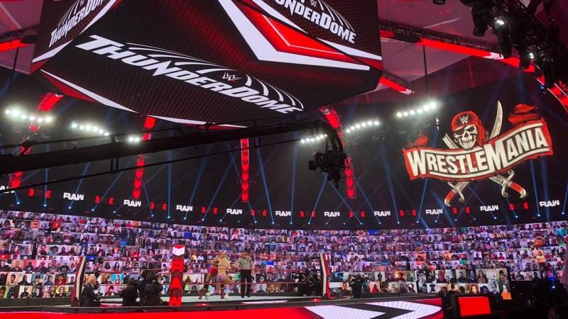 WWE Returning To The ThunderDome Due To COVID-19?