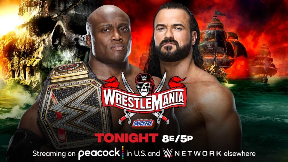 WrestleMania 37 Night 1 Results