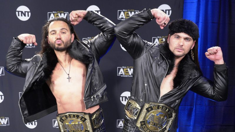 The Young Bucks Throw Shade At NXT Roster