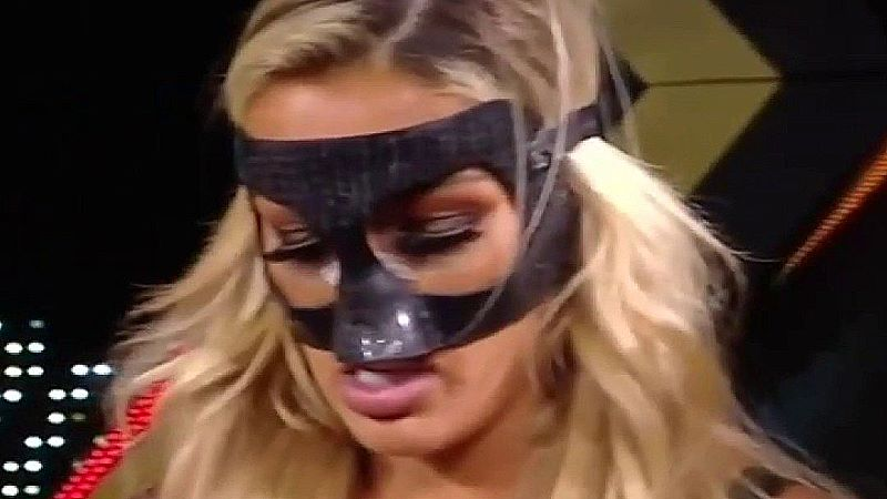 Mandy Rose Now Wearing A Mask On NXT