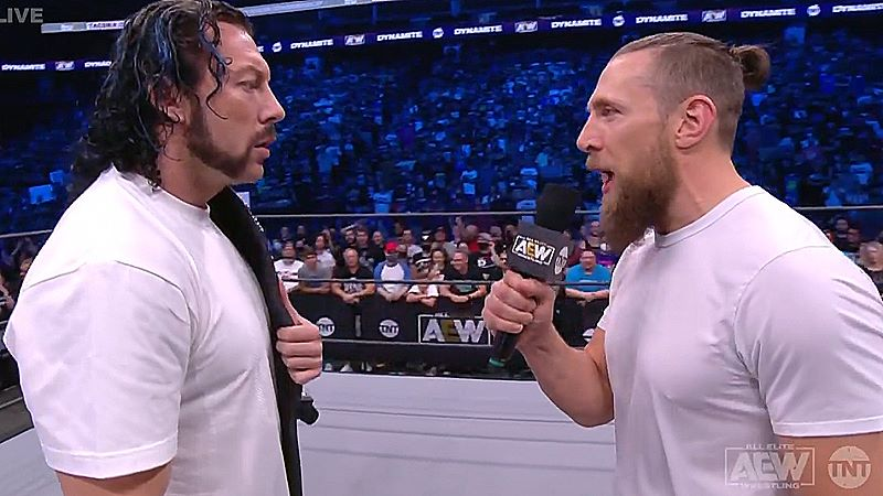 Kenny Omega Vs Bryan Danielson Set For Next Week's AEW Dynamite: Grand Slam