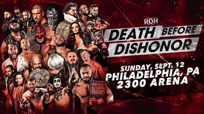ROH Death Before Dishonor Results - September 12, 2021