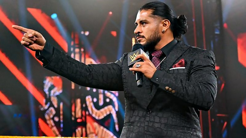 Backstage Talk On WWE Not Moving Santos Escobar To The Main Roster